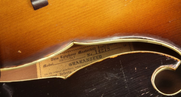 Epiphone-Broadway-Archtop-1939-label