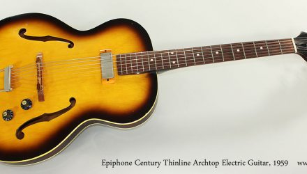 Epiphone-Century-Thinline-Archtop-Electric-Guitar-1959-Full-Front-View