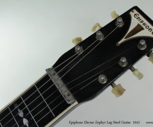 Epiphone Electar Zephyr Lap Steel Guitar 1943 No Longer Available