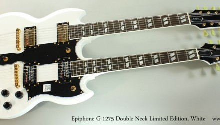 Epiphone-G-1275-Double-Neck-Limited-Edition-White-Full-Front-View