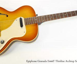 Epiphone Granada E444T Thinline Archtop Sunburst, 1965