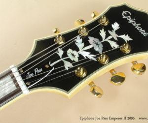 2006 Epiphone Joe Pass Emperor II NO LONGER AVAILABLE
