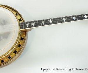 1929 Epiphone Recording B Tenor Banjo  SOLD