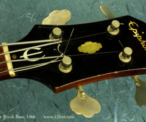 Epiphone Rivoli Bass, 1966 (consignment) SOLD
