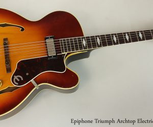 SOLD!!! 1964 Epiphone Triumph Archtop Electric