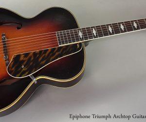 1941 Epiphone Triumph Archtop Guitar  SOLD