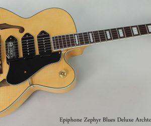 2000 Epiphone Zephyr Blues Deluxe Archtop
