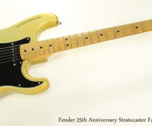 Fender 25th Anniversary Stratocaster Faded Silver, 1979