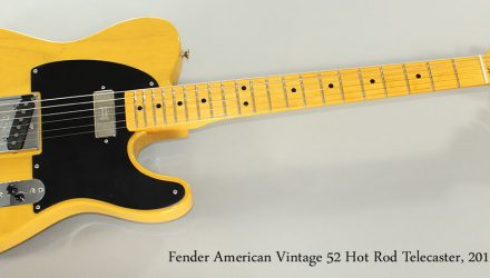Fender-American-Vintage-52-Hot-Rod-Telecaster-2011-Full-Front-View
