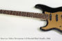 SOLD!!! 2006 Fender American Deluxe Stratocaster Left Handed Black Metallic