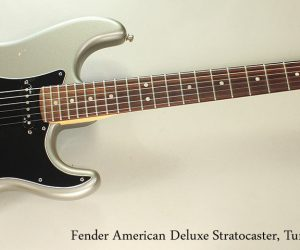 NO LONGER AVAILABLE!!! 2010 Fender American Deluxe Stratocaster, Tungsten