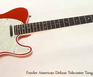 SOLD!!! Fender American Deluxe Telecaster Tangerine, 2005