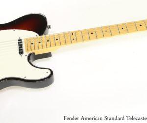 Fender American Standard Telecaster Sunburst, 2012