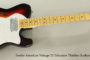 SOLD!!! 2012 Fender American Vintage 72 Telecaster Thinline Sunburst