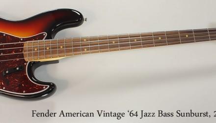 Fender-American-Vintage-64-Jazz-Bass-Sunburst-2015-Full-Front-View