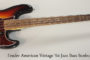2015 Fender American Vintage '64 Jazz Bass (SOLD)