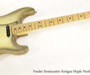 Fender Stratocaster Antigua Maple Neck Hard Tail, 1979