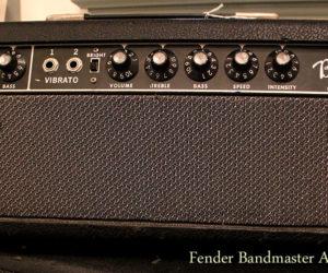 Fender Bandmaster 'Blackface' amp, 1964 (consignment) SOLD