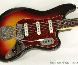 1963 Fender Bass VI (consignment)  SOLD