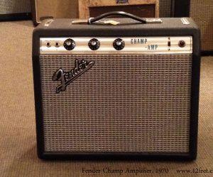 1970 Fender Champ Amplifier  SOLD