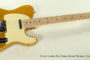 SOLD!!! 2008 Fender Custom Shop Danny Gatton Telecaster, Frost Gold