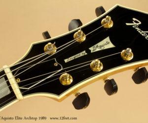 1989 Fender DAquisto Elite Archtop (consignment) SOLD