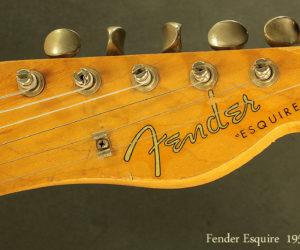 Fender Esquire 1957 (consignment) SOLD