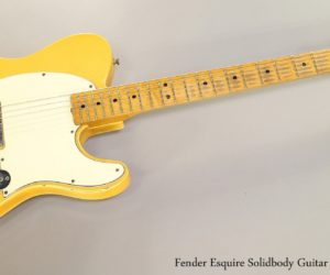 Fender Esquire Solidbody Guitar Blonde, 1967