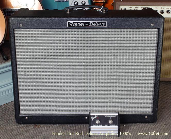 1990s Fender Hot Rod Deluxe Amplifier Www 12fret Com