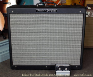 1997 Fender Hot Rod Deville Amp (consignment) No Longer Available