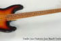 2014 Fender Jaco Pastorius Jazz Bass® Fretless  SOLD