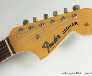 Fender Jaguar 1965 (consignment) Sold