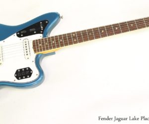 ❌ SOLD ❌ Fender Jaguar Lake Placid Blue, 1966