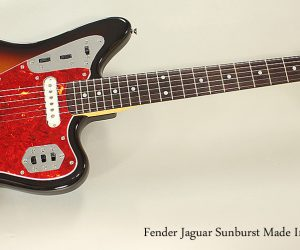 1994 Fender Jaguar Sunburst Made In Japan (SOLD)