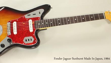 Fender-Jaguar-Sunburst-Made-In-Japan-1994-Full-Front-View