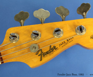 Fender Jazz Bass 1965 (consignment) SOLD