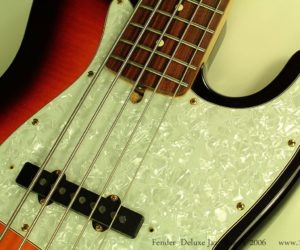 Fender Deluxe Jazz Bass V 2006 (consignment)  SOLD