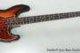 1965 Fender® Jazz Bass Sunburst (SOLD)