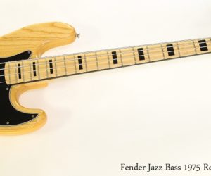 Fender Jazz Bass 1975 Reissue Natural, 2001