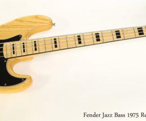 Fender Jazz Bass 1975 Reissue Natural, 2001
