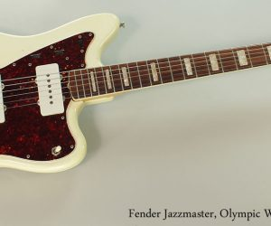 1966 Fender Jazzmaster, Olympic White (SOLD)