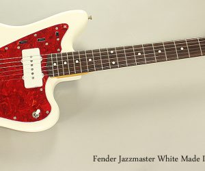 SOLD! 1994 Fender Jazzmaster White Made In Japan