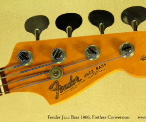 Fender Jazz Bass 1966 - Fretless Conversion (consignment) No longer available