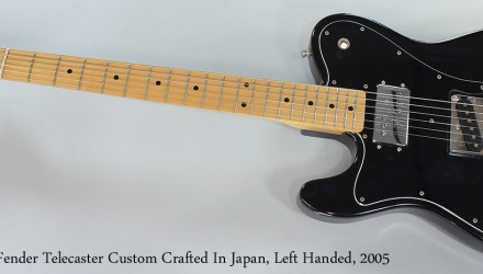 Fender-Telecaster-Custom-Crafted-In-Japan-Left-Handed-2005-Full-Front-View