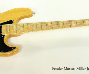 ❌ SOLD ❌  1995 Fender Marcus Miller Jazz Bass MIJ