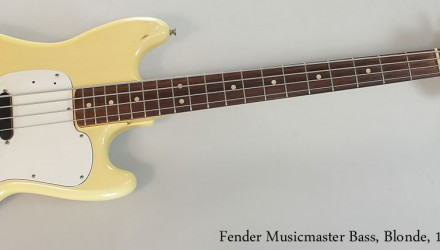 Fender-Musicmaster-Bass-Blonde-1975-Full-Front-View