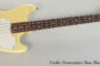 1975 Fender Musicmaster Bass, Blonde  SOLD