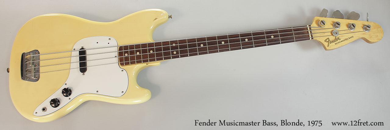 Review de um Viola Bass Giannini no Talkbass Fender-musicmaster-bass-blonde-1975-cons-full-front