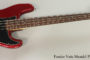 2013 Fender Nate Mendel P-Bass (SOLD)