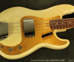 Fender P-Bass '59 NOS' 2008 (consignment) No Longer Available